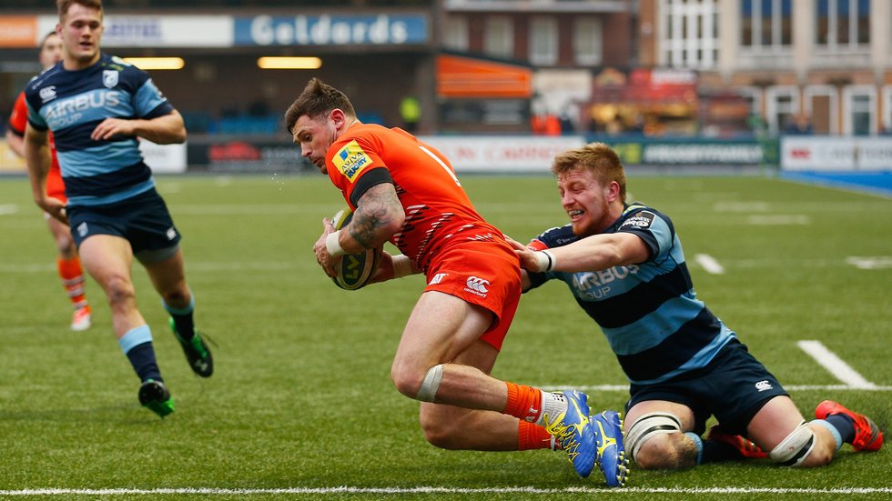Adam Thompstone scored twice in Tigers' only previous win at the Arms Park in Cardiff