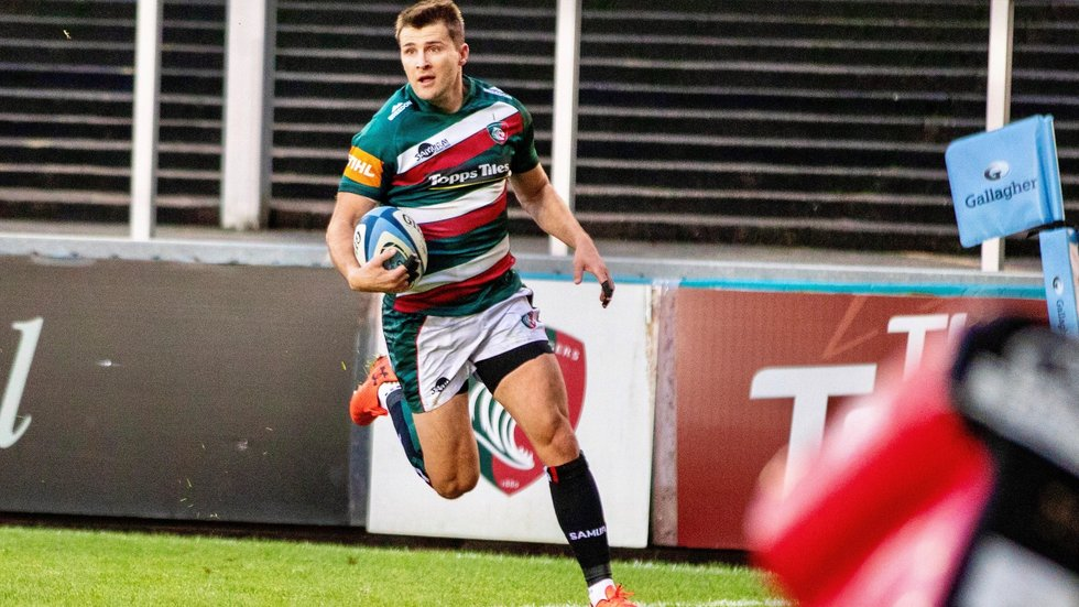 Richard Wigglesworth was a tryscorer in his debut against Gloucester last season