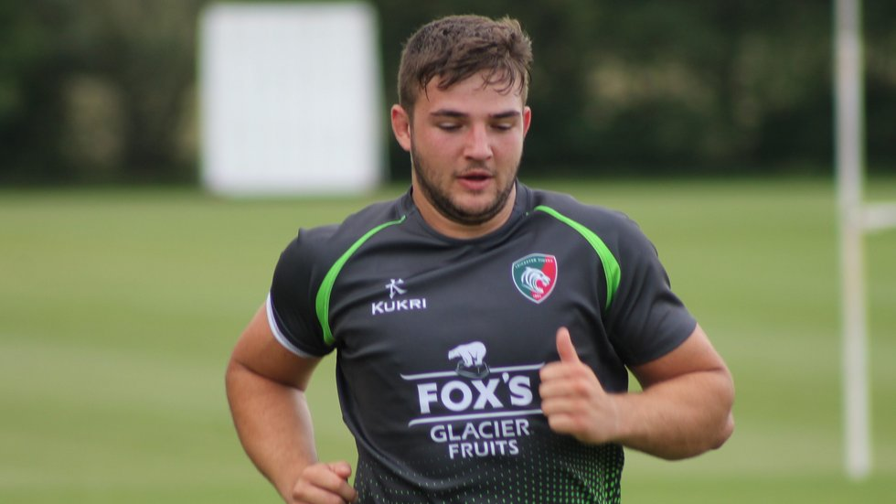 Taylor Gough is among the Development squad players involved in the Sevens