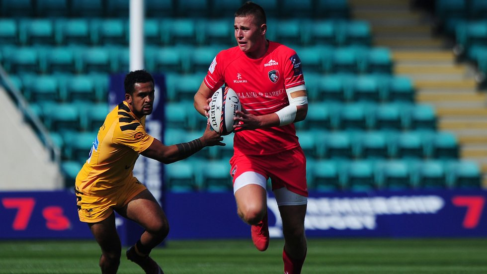 Freddie Steward has been involved in all four of England U20s' Six Nations games so far.