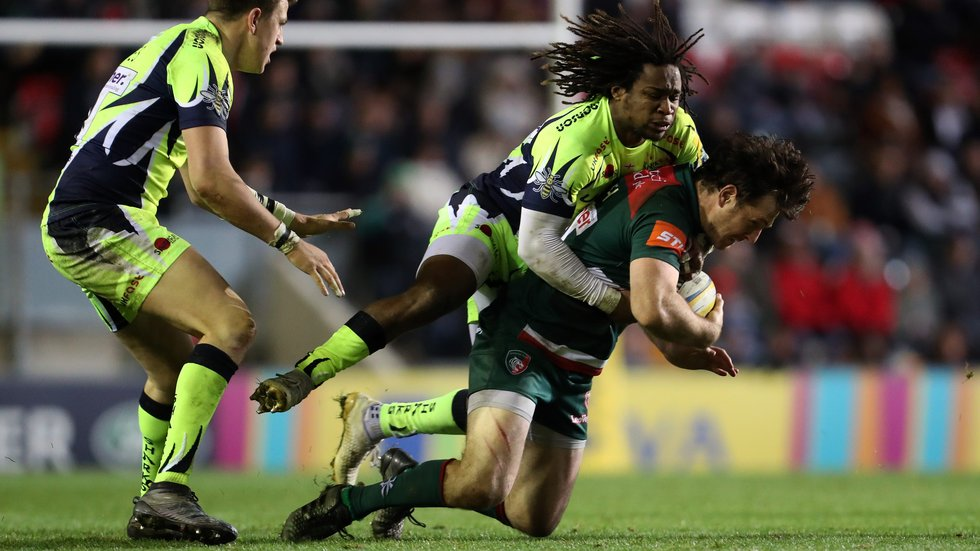 Tigers face Sale Sharks at Welford Road in the pool stages of the new Premiership Rugby Cup