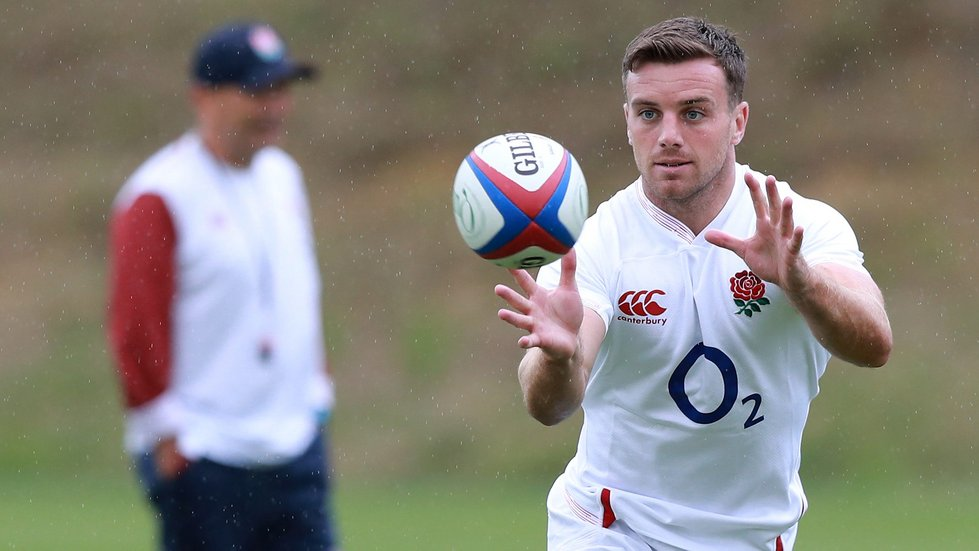 George Ford starts at fly-half at the end of an impressive tournament