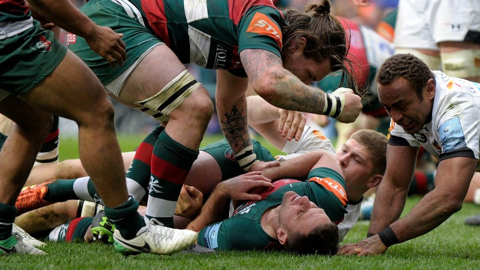 Joe Ford was the try hero in last season's win over Wasps at Welford Road