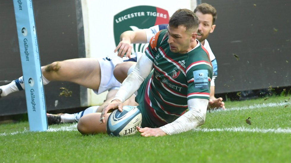 Jonny May carries a scoring threat for England on the wing