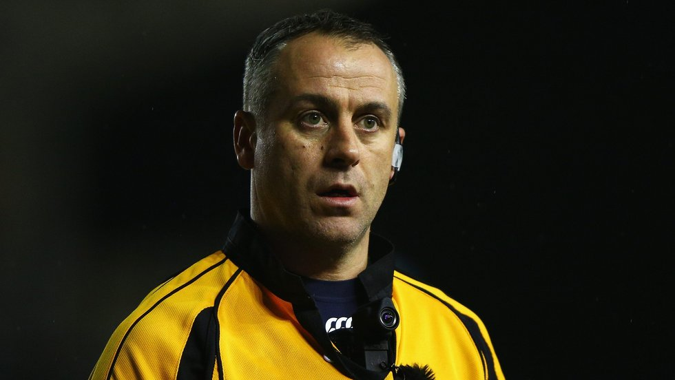Referee John Lacey will take charge of Tigers trip to Racing 92