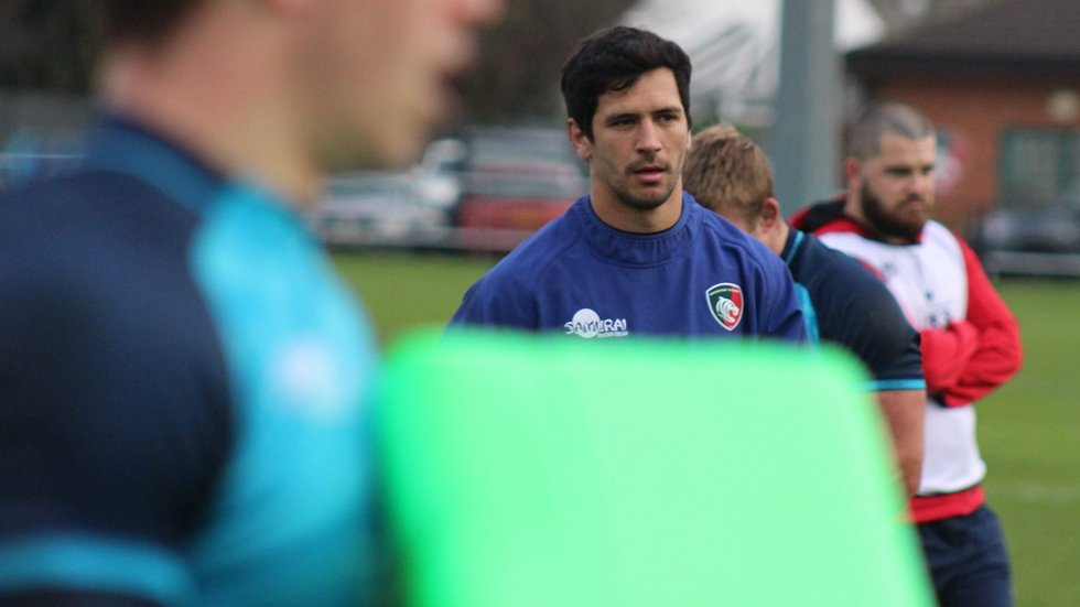 Matias Moroni makes his Leicester Tigers debut in European action on Friday