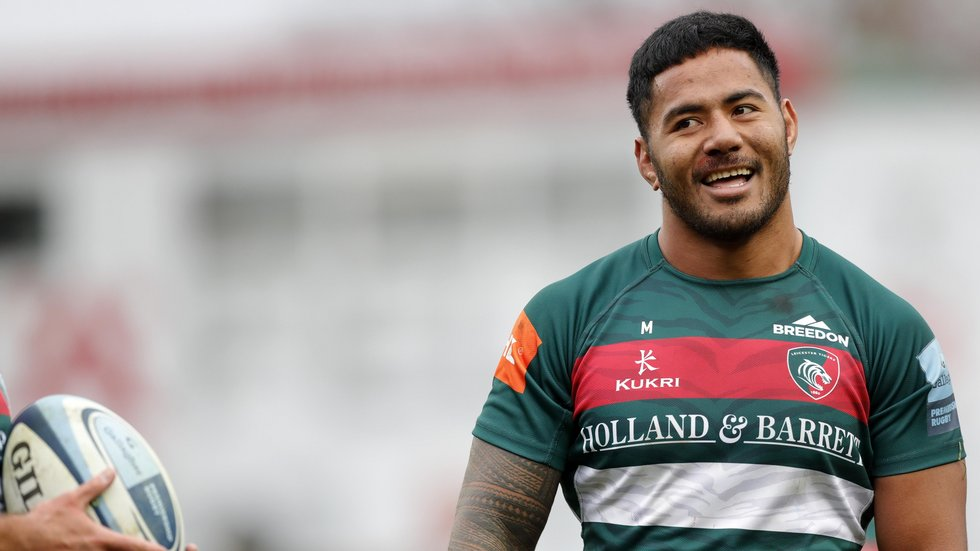 Manu Tuilagi is among six Leicester Tigers players in England's squad for the Rugby World Cup