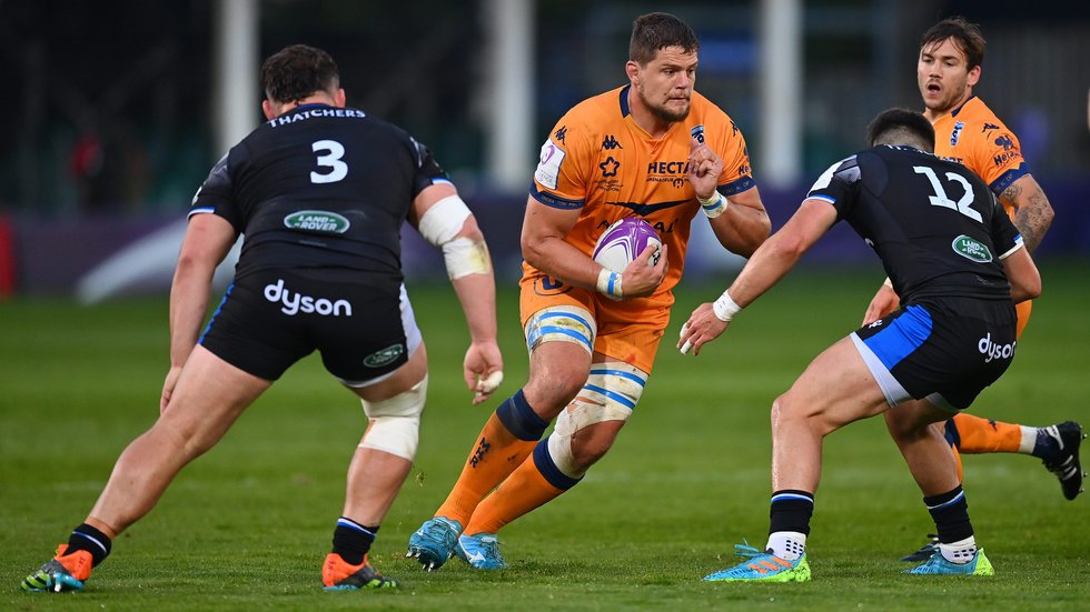Paul Willemse is a France international in the Montpellier pack
