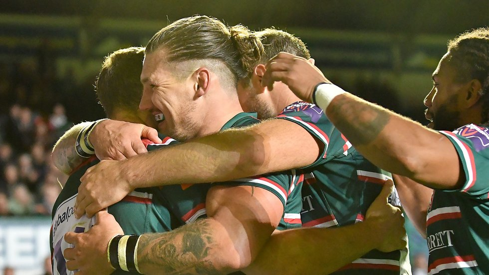 The 32-year-old scored Tigers' first try of the season at Welford Road against Exeter Chiefs.