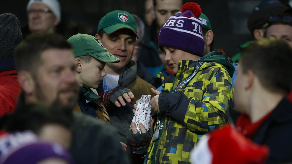 What's inside another layer of wrapping during half-time Pass The Parcel?