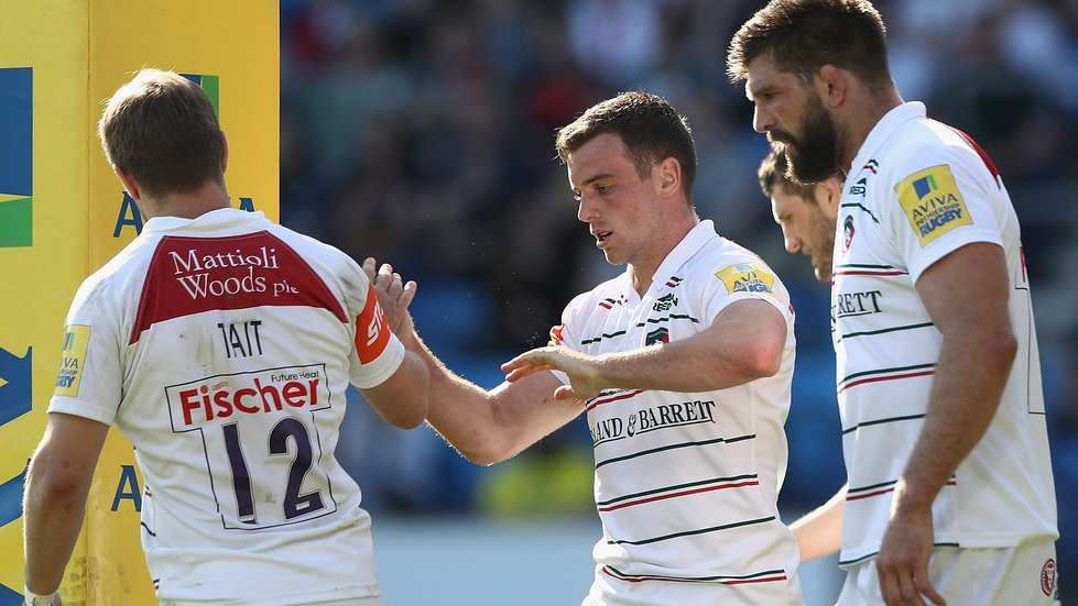 George Ford starts at fly-half for England in the second Test this weekend
