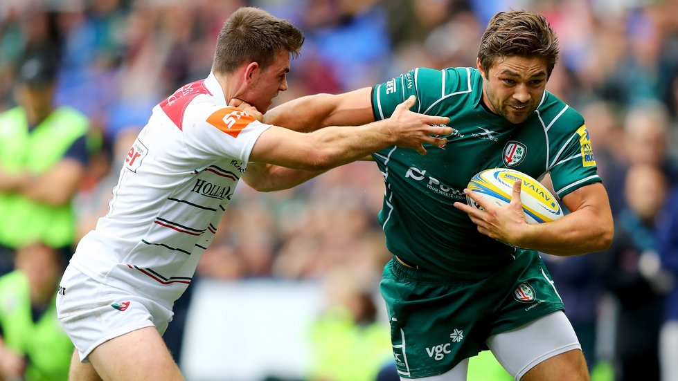 London Irish will be hoping to make a quick return to Premiership rugby after relegation in 2017/18