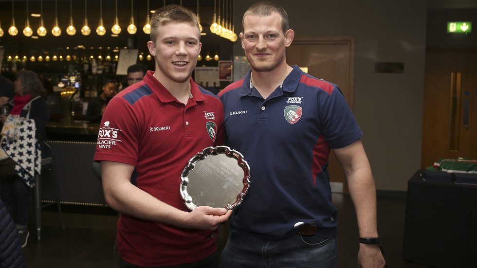 Back-rower Sam Eveleigh received the Coaches' Player of the Year award