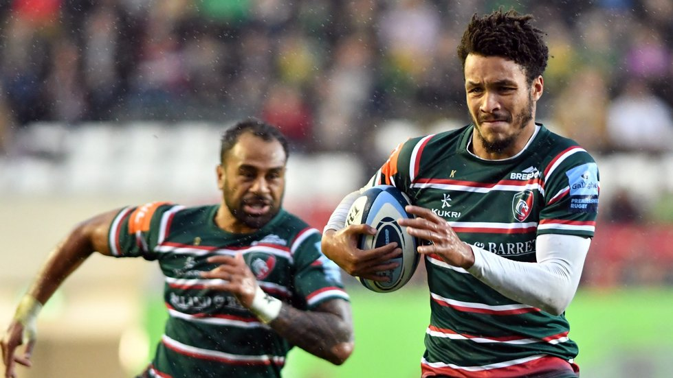 Jordan Olowofela returns to the Leicester Tigers backline for Saturday's home game