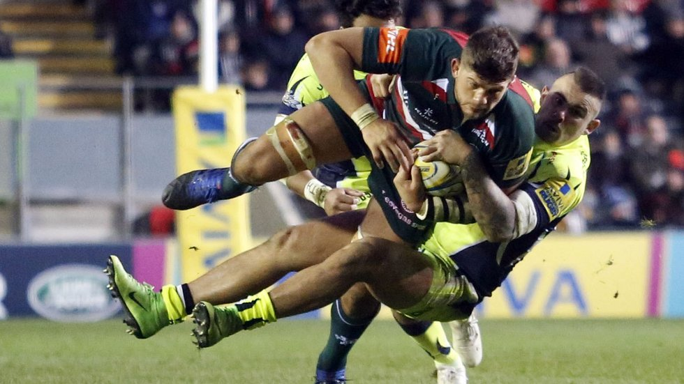 Mike Williams got through a big shift in the win over Sale Sharks