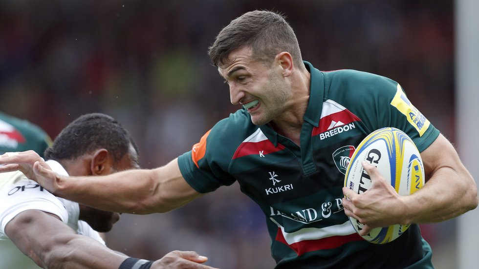Jonny May is among five Tigers players in the England squad for the match against the Barbarians