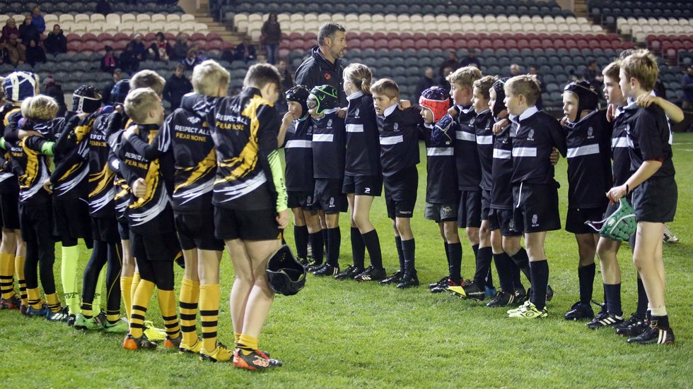 Holt RFC are among the Norfolk clubs who have made regular trips to Welford Road