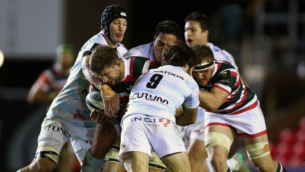 Tigers are braced for another physical encounter as Racing 92 return to Welford Road this weekend