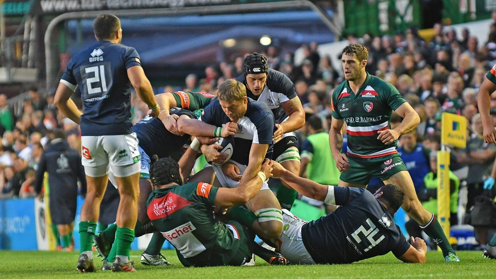 Tigers and Treviso met for a pre-season fixture last summer