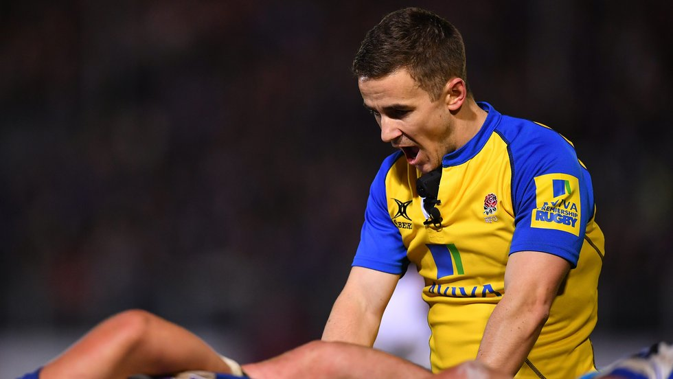 Luke Pearce will referee Tigers' final home game of the season against Newcastle Falcons on Friday evening