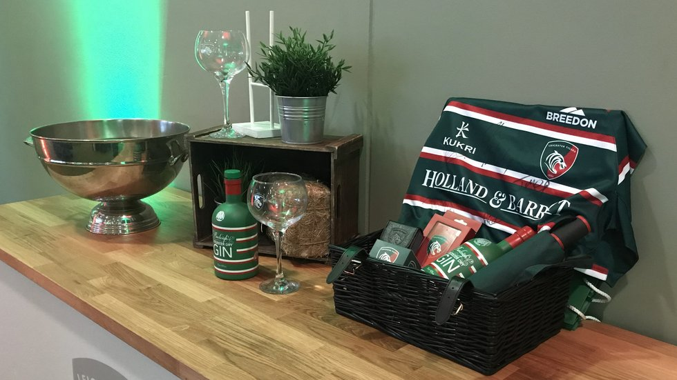 ...including a hamper from club partners Burleighs...