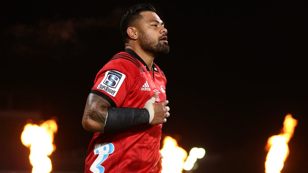 Crusaders celebrate Super Rugby win with meet-and-greet