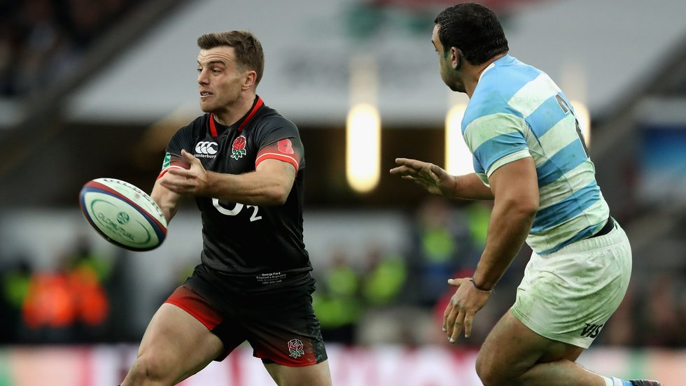 George Ford started at fly-half in England's opening win over Argentina