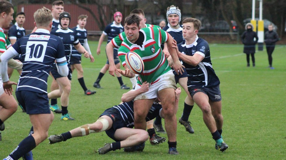Front-rower Whitcombe has played a pivotal role in the Academy's back-to-back titles.