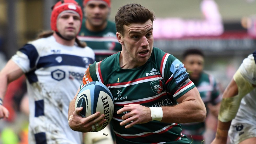 George Ford was a tryscorer in the home game against Bristol Bears earlier this season