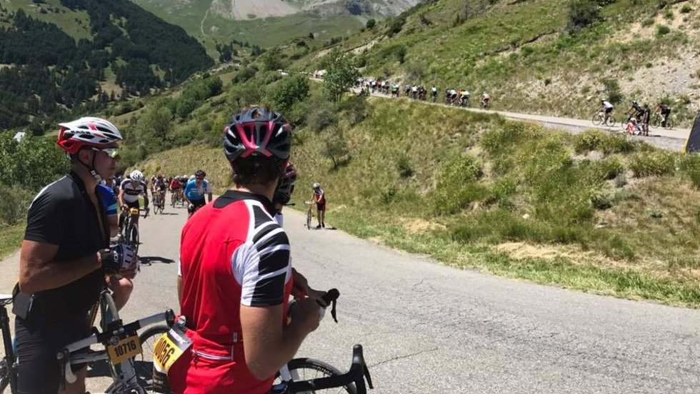 This year's Etape took a punishing route through the Alps