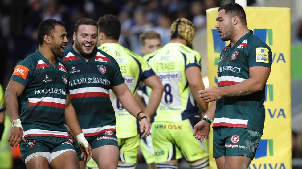 Ellis Genge was among the tryscorers in the home win over Sale Sharks earlier in the new season
