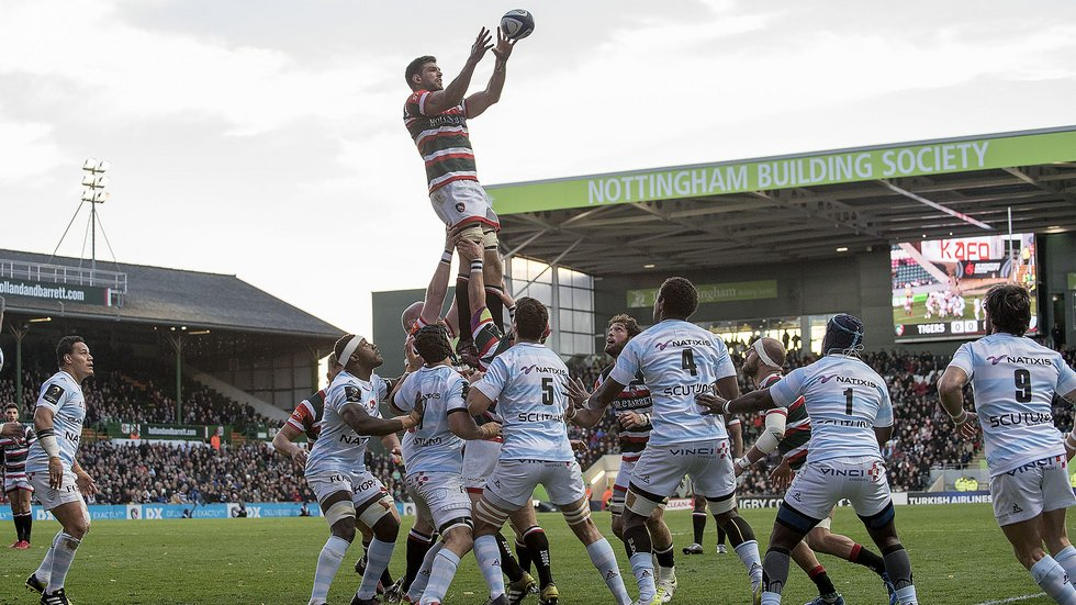 French side Racing 92 return to Welford Road on Sunday in Round 6 of the Champions Cup