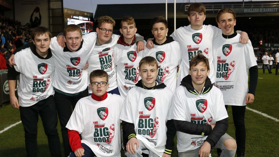 Juniors from Atherstone RFC made two successful catches on Sunday