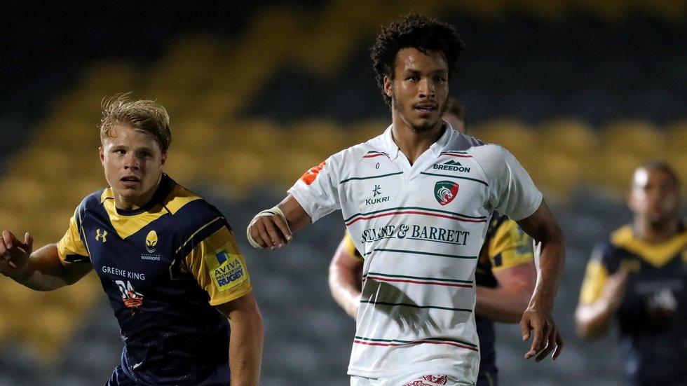 Jordan Olowofela has experienced senior rugby with Tigers this season