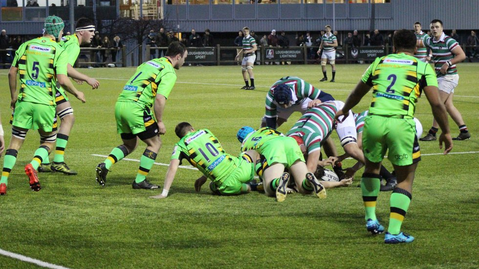 Tigers shared a 31-31 draw with Northampton in Round 1 of the academy league