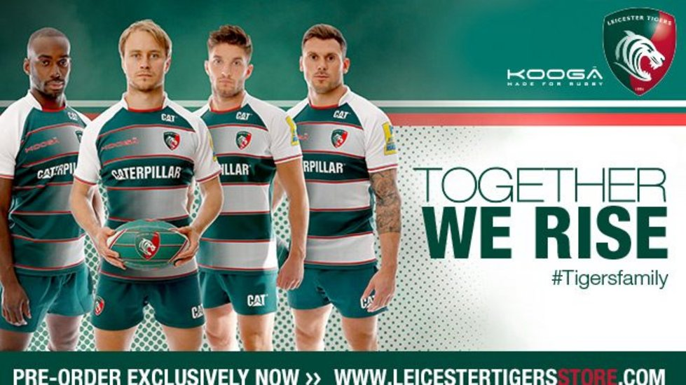 Tigers reveal new home kit for 2015/16 | Leicester Tigers