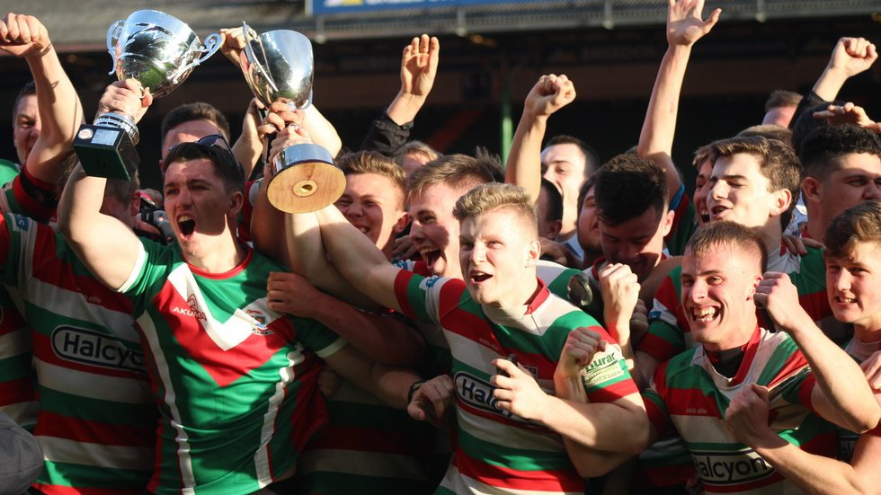 Lutterworth lifted the Laurence Fenton County Colts Cup for a second year in succession