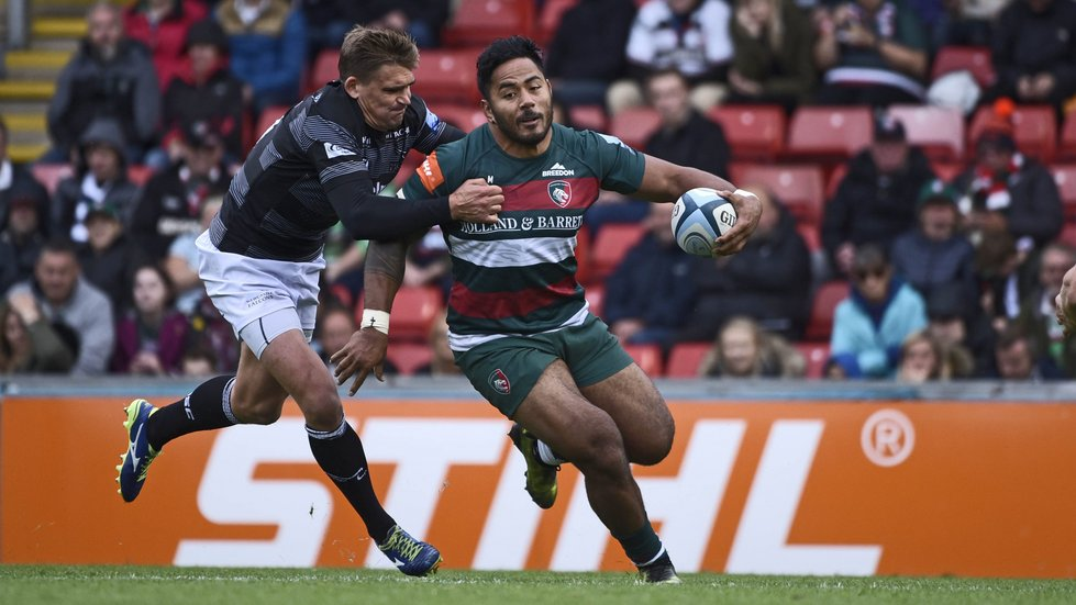 Manu Tuilagi returns to the Leicester Tigers backline this weekend