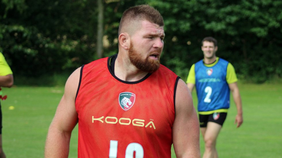 Loosehead prop Michele Rizzo is back at Leicester after a spell with Edinburgh
