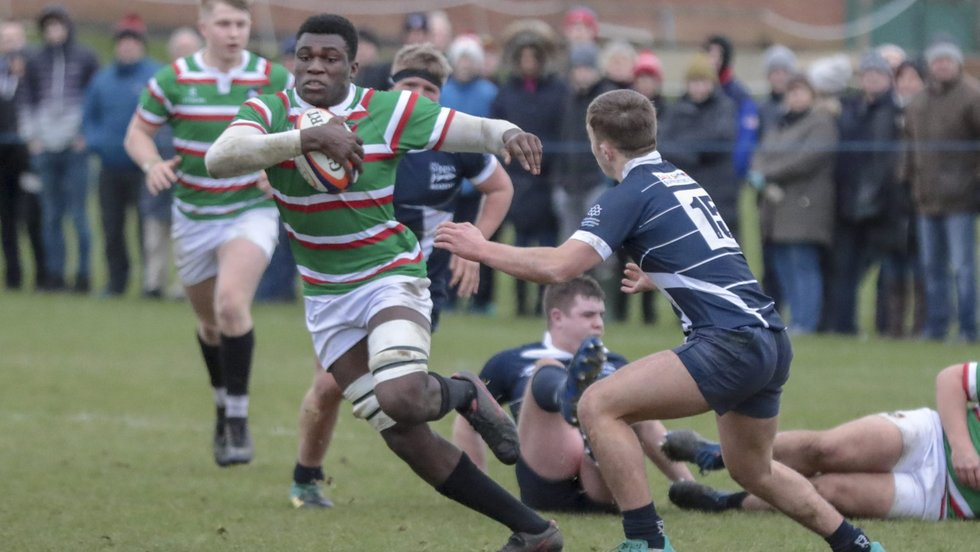 Emeka Ilione is one of six young Tiger cubs named in England's Under-17 development squad.