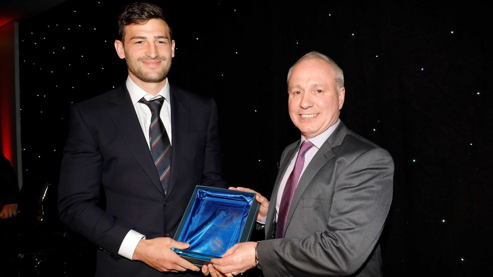 Jonny May was named Newcomer of the Year in the 2017/18 polls