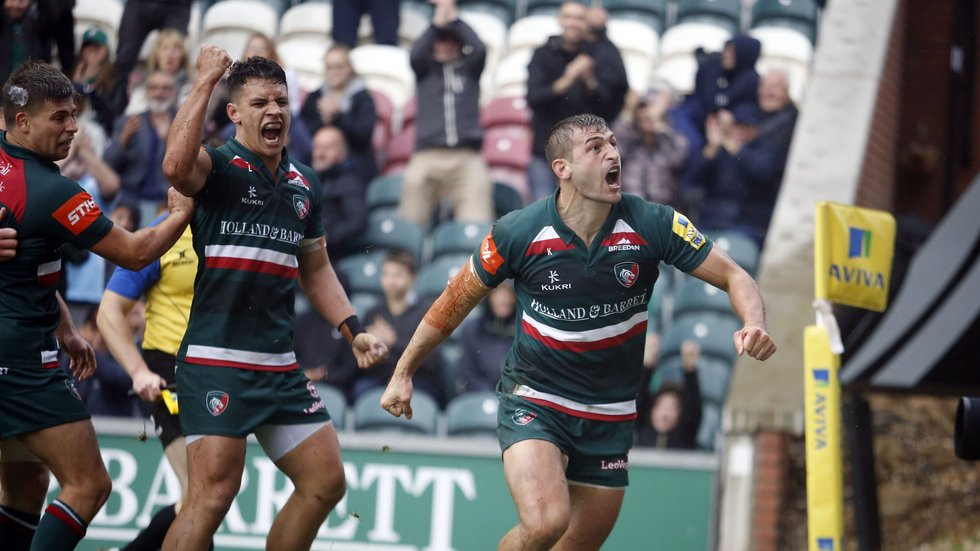 Jonny May finished his debut season as Tigers top try-scorer