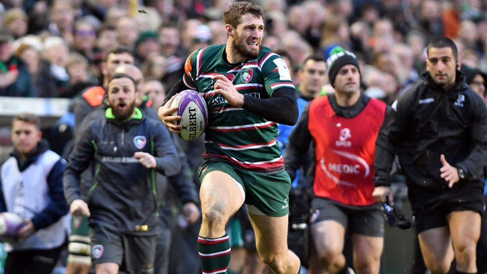 Jonah Holmes supplied four tries against Pau to get the campaign off to a good start