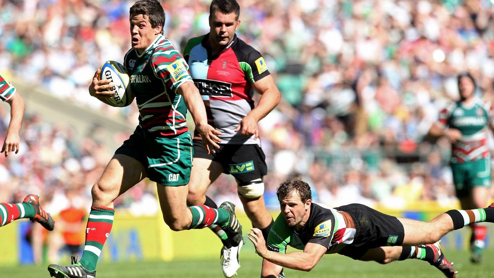 Quins and Tigers also met in a Premiership Final at Twickenham in 2012