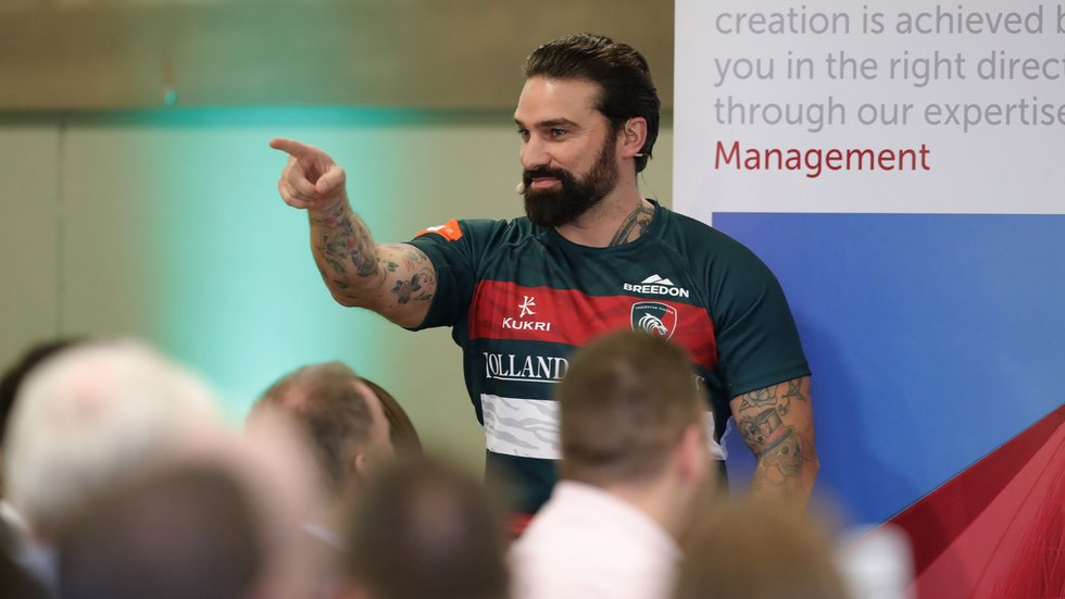 Previous speakers at the Business Club include former Royal Marine, Ant Middleton.