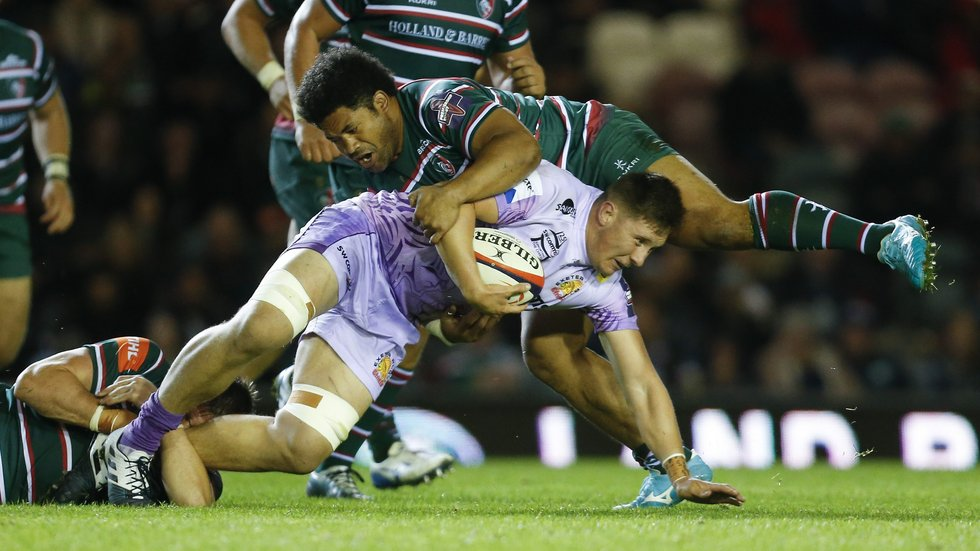 Tatafu Polota-Nau has played in wins over Exeter and Bath in the Premiership Cup