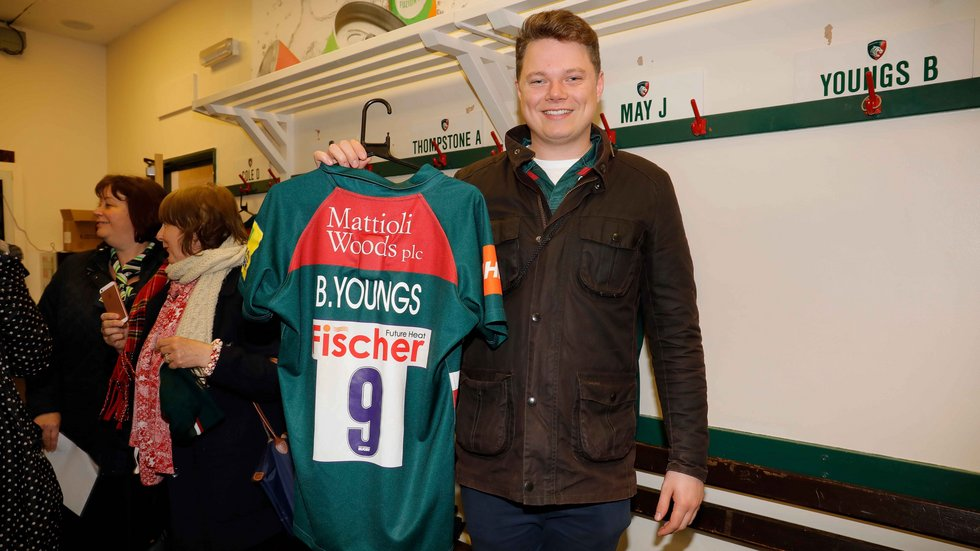 See behind the scenes at Welford Road with a stadium tour
