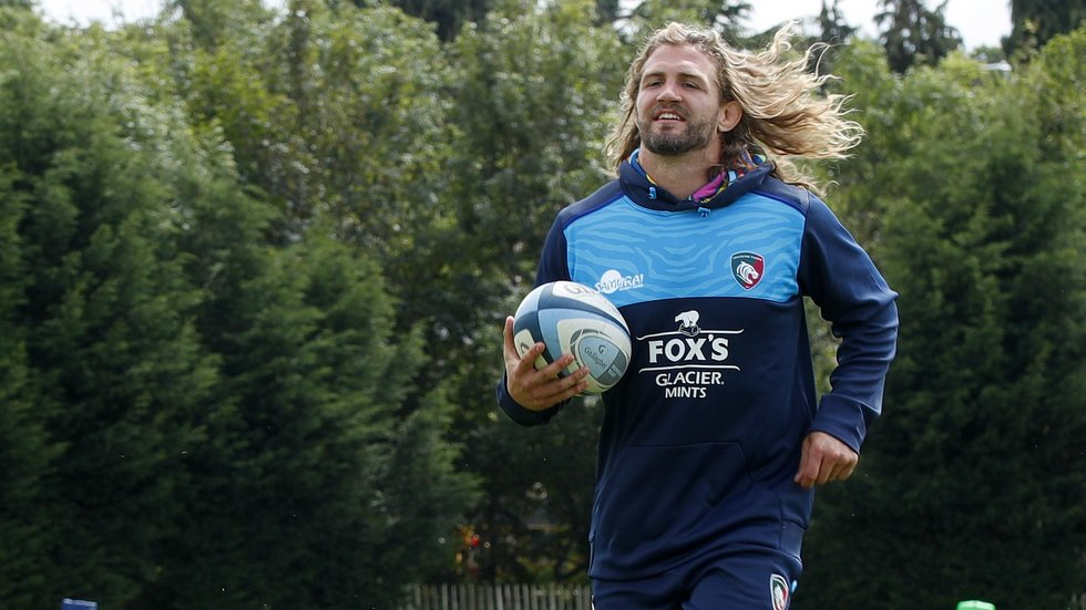 Luke Wallace is in line to make his Leicester Tigers debut from the bench