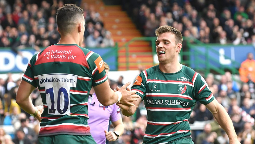 Tigers have scored eight tries in two games at Welford Road so far this season - including a debut score for new signing Noel Reid.
