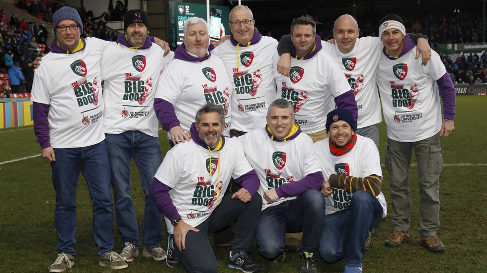 Big derby day competition for the coaches from Stamford RFC